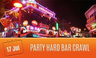 17th July: Party Hard Bar Crawl