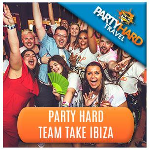 The Party Hard Team Take On Ibiza!!!