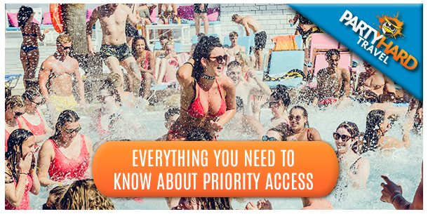 Partytime in the Pool and Everything You Need to Know about Priorty Access