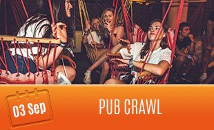 3rd September: Pub Crawl