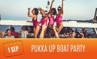 Pukka Up Boat Party, Ibiza, 1st September