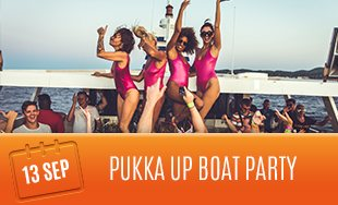 Pukka Up Boat Party, 13th September