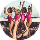 Ibiza Pukka Up Boat Party