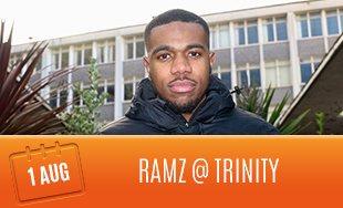 1st August: RAMZ Club Trinity