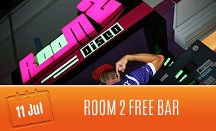 11th July: Room 2 Free Bar