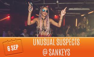 Unusual Suspects at Sankeys Club Ibiza, 6th September