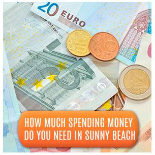 Spending Money in Sunny Beach