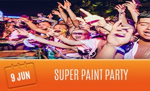 9th June: Super Paint Party