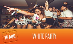 16th August: The White Party