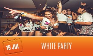 19th July: The White Party