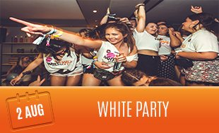 2nd August: The White Party