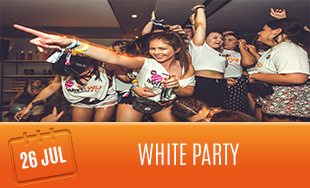 26th July: The White Party