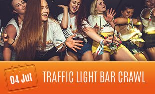 4th July: Traffic Light Bar Crawl