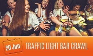 20th June: Traffic Light Bar Crawl