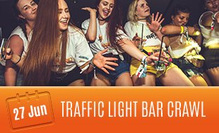 27th June: Traffic Light Bar Crawl