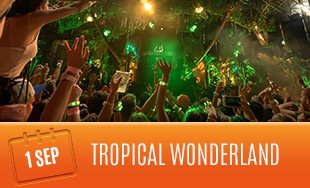 1st September: Tropical Paradise