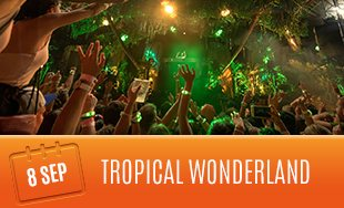 8th September: Tropical Wonderland