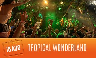 18th August: Tropical Paradise