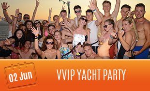 2nd June: VVIP Yacht Party
