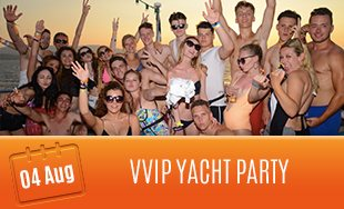 4th August: VVIP Yacht Party