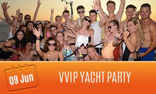 9th June: VVIP Yacht Party