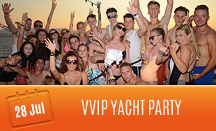 28th July: VVIP Yacht Party