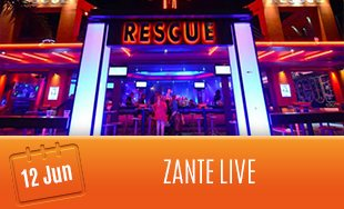 12th June: Zante Live