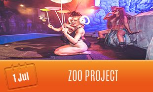 1st July: Zoo project Ibiza