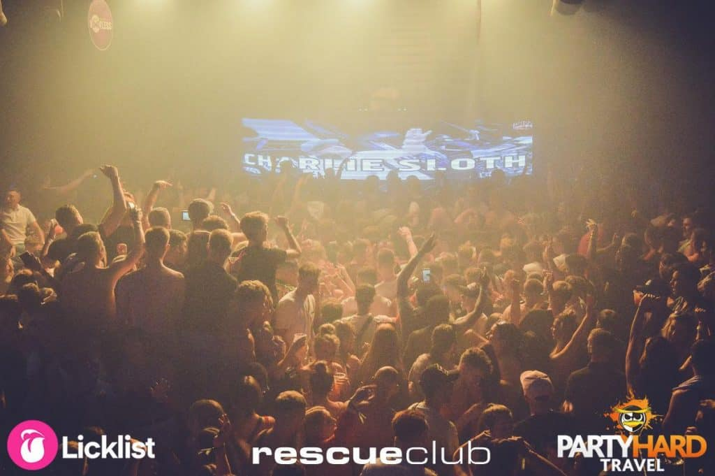 Busy Night Inside Rescue Club Featuring Charlie Sloth