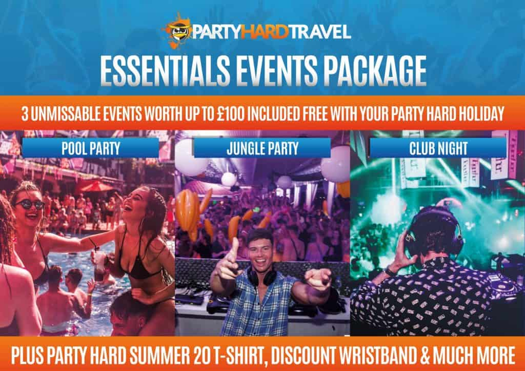 The Essentials Events Package
