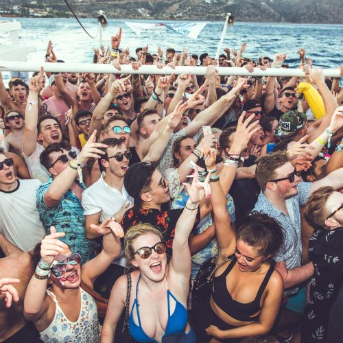 ibiza event pukka up boat party spending money for holiday
