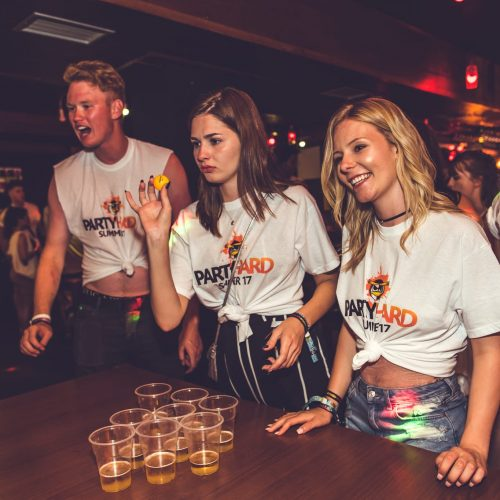 beer pong drinking games bar crawl