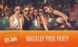 2nd June: Pool Party