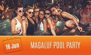 16th June: Magaluf Pool Party