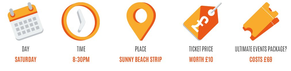 Beach Bar Sunny Beach date time place ticket price and
