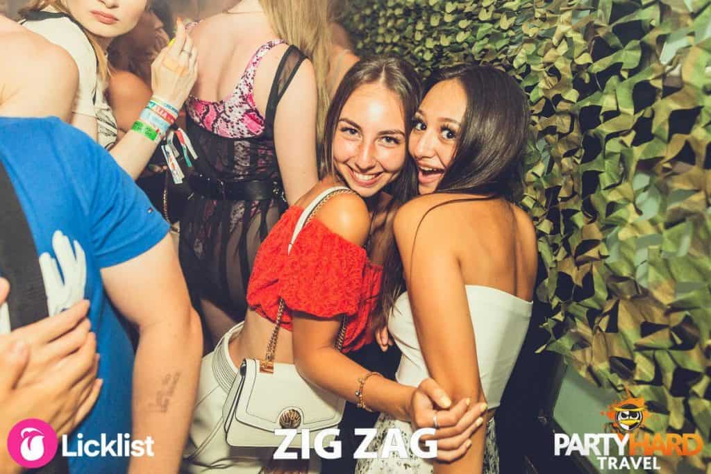 Girls surprised on night out at Malia Club