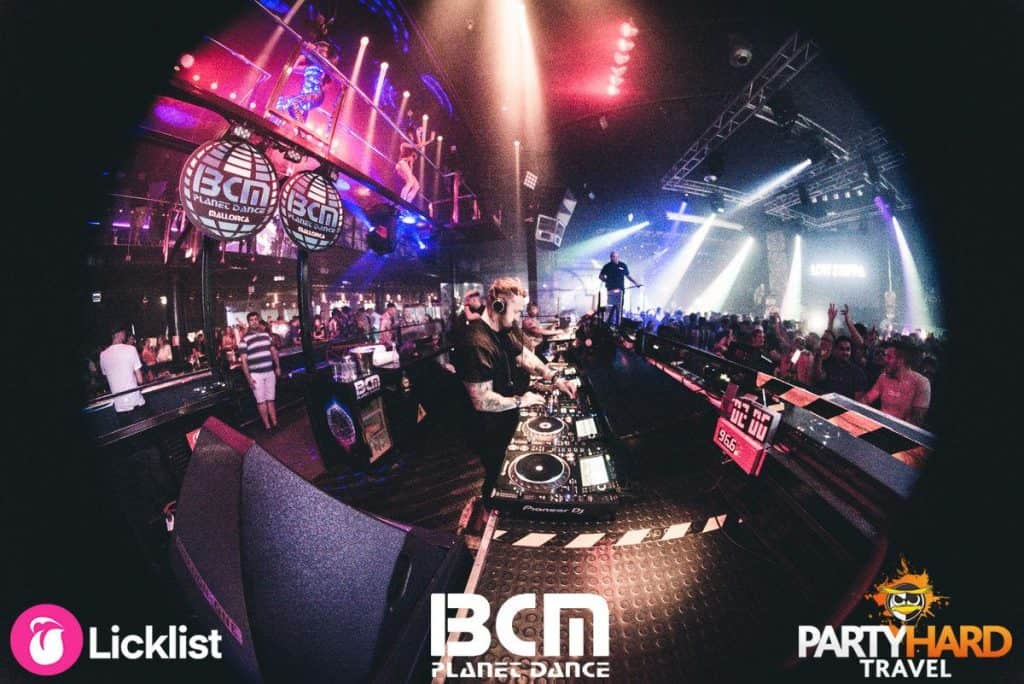 Performers Majestic & Nathan Dawe working the DJ Turntables and Performing on Stage at BCM SuperClub