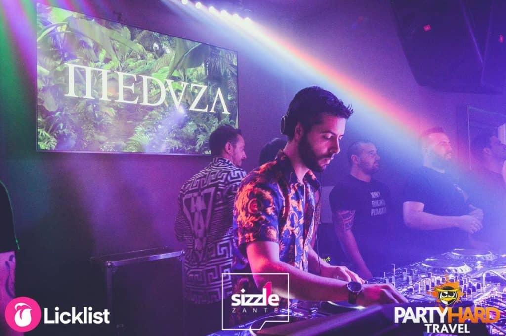 Zanti Sizzle Club DJ Playing Meduza Luca de Gregorio, Mattia Vitale and Simone Giani