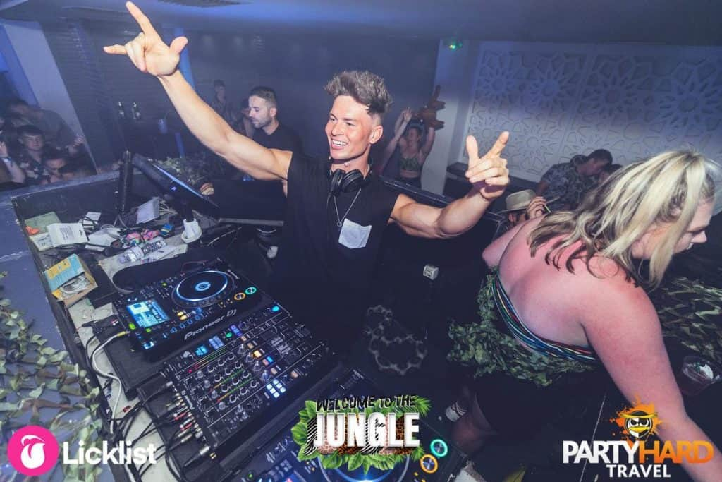 Joel Corry, Celebrity DJ Leading the Rave at Future Club