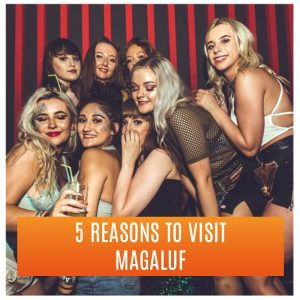Girls Ready to Party With Drinks: 5 Reasons to Visit Magaluf
