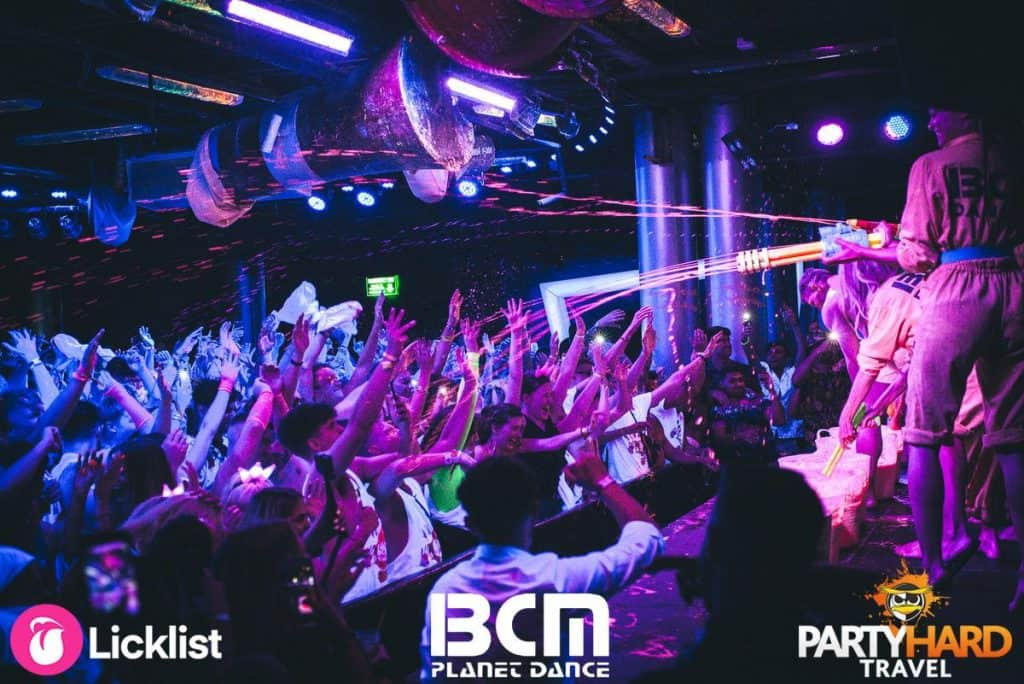 Performers Firing Paint Guns into Crowd of Clubbers at BCM Planet Dance Club