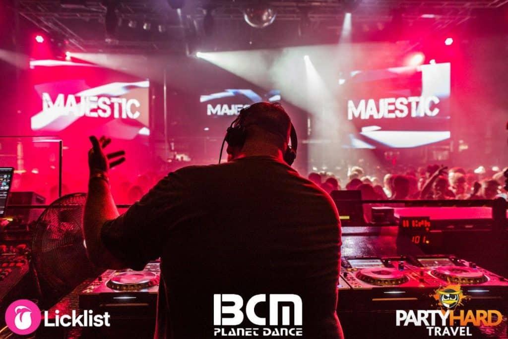 Celebrity DJ Martin Garrix mixing the tracks at Majestic Club Event, Magaluf
