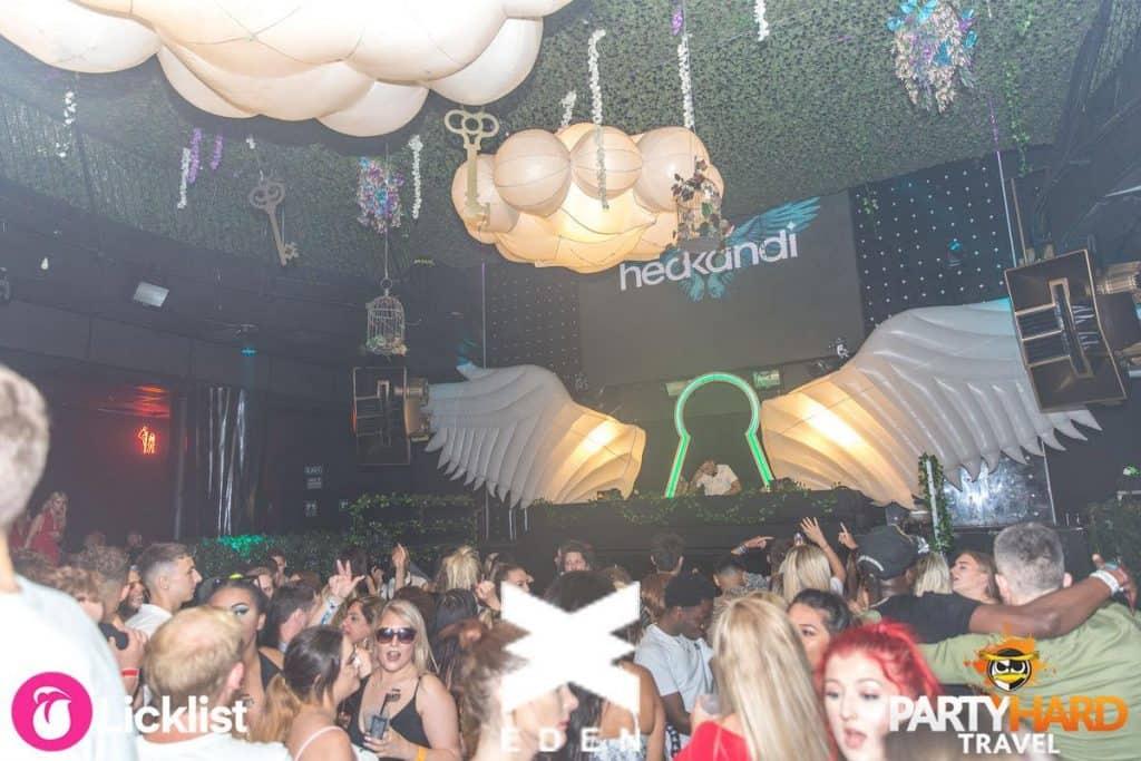 Hedkandi's House DJ's preforming at Ibiza's WNDRLND event, at Eden Club