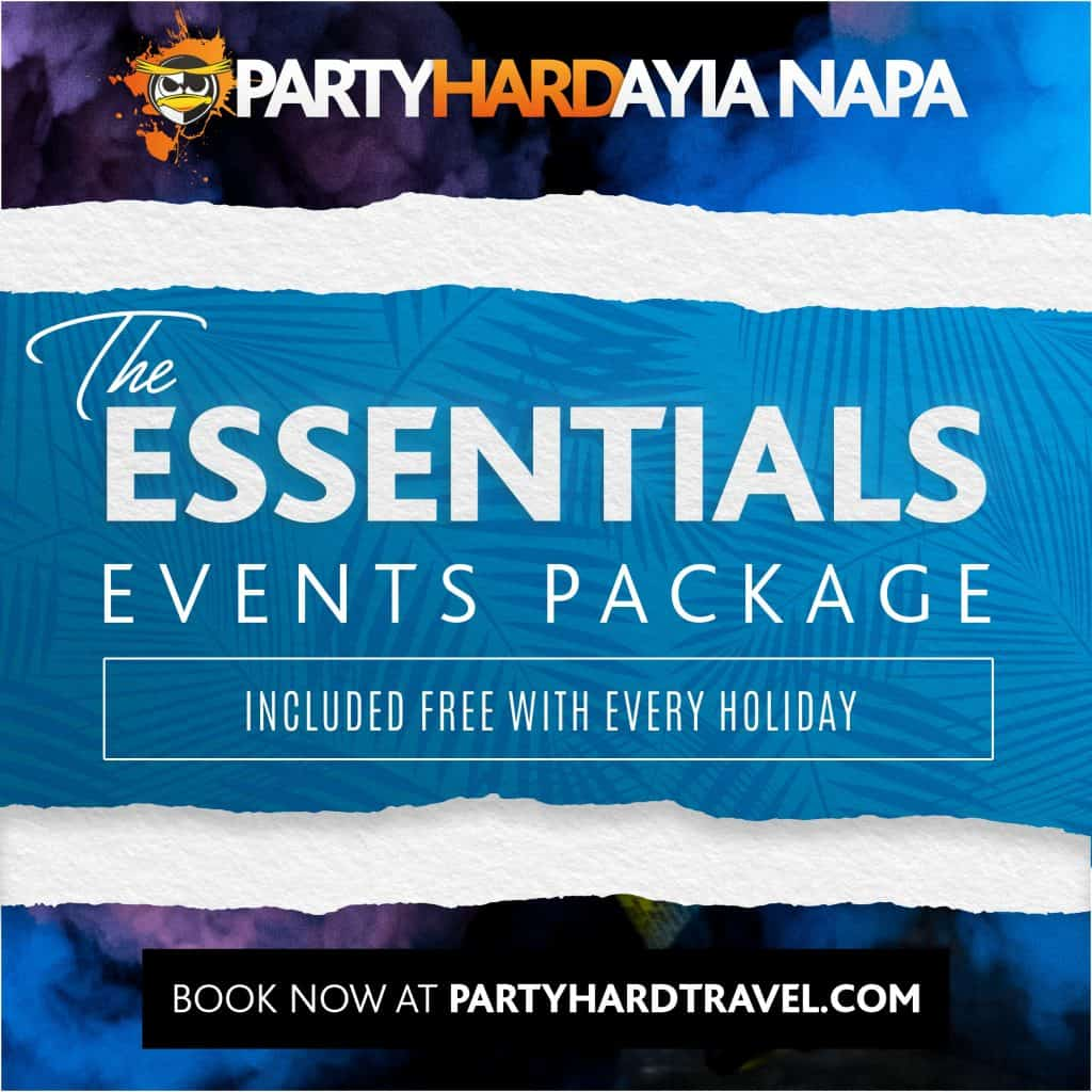 Ayia Napa Essentials Events Package