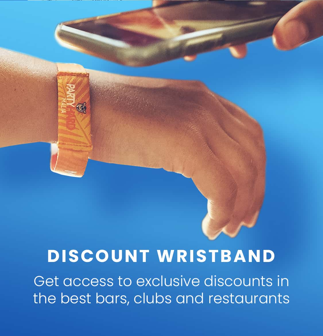 discount wristband mobile