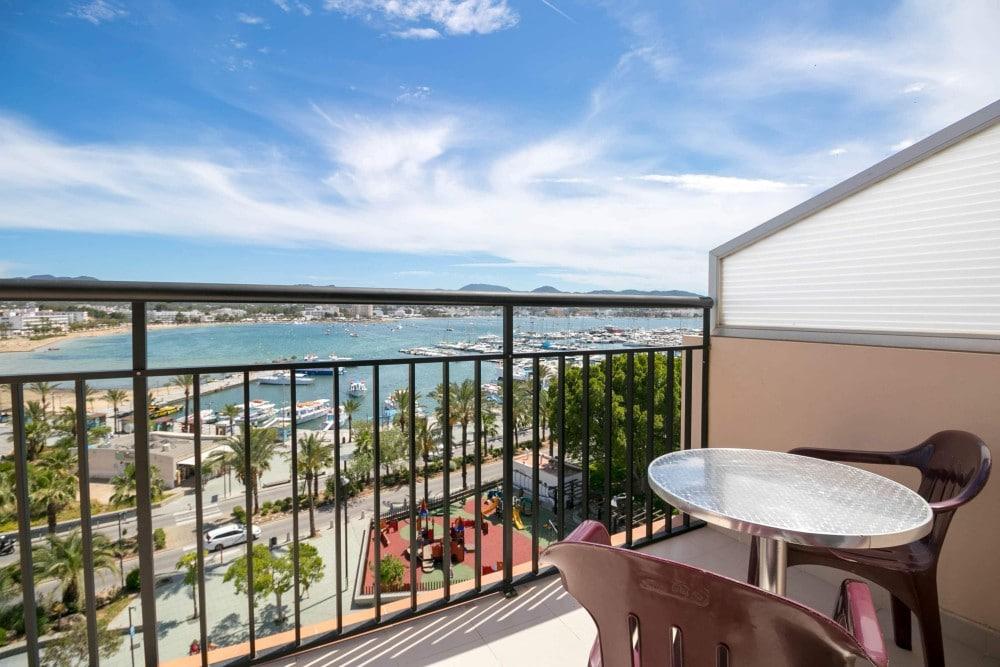 red hotel ibiza sea view