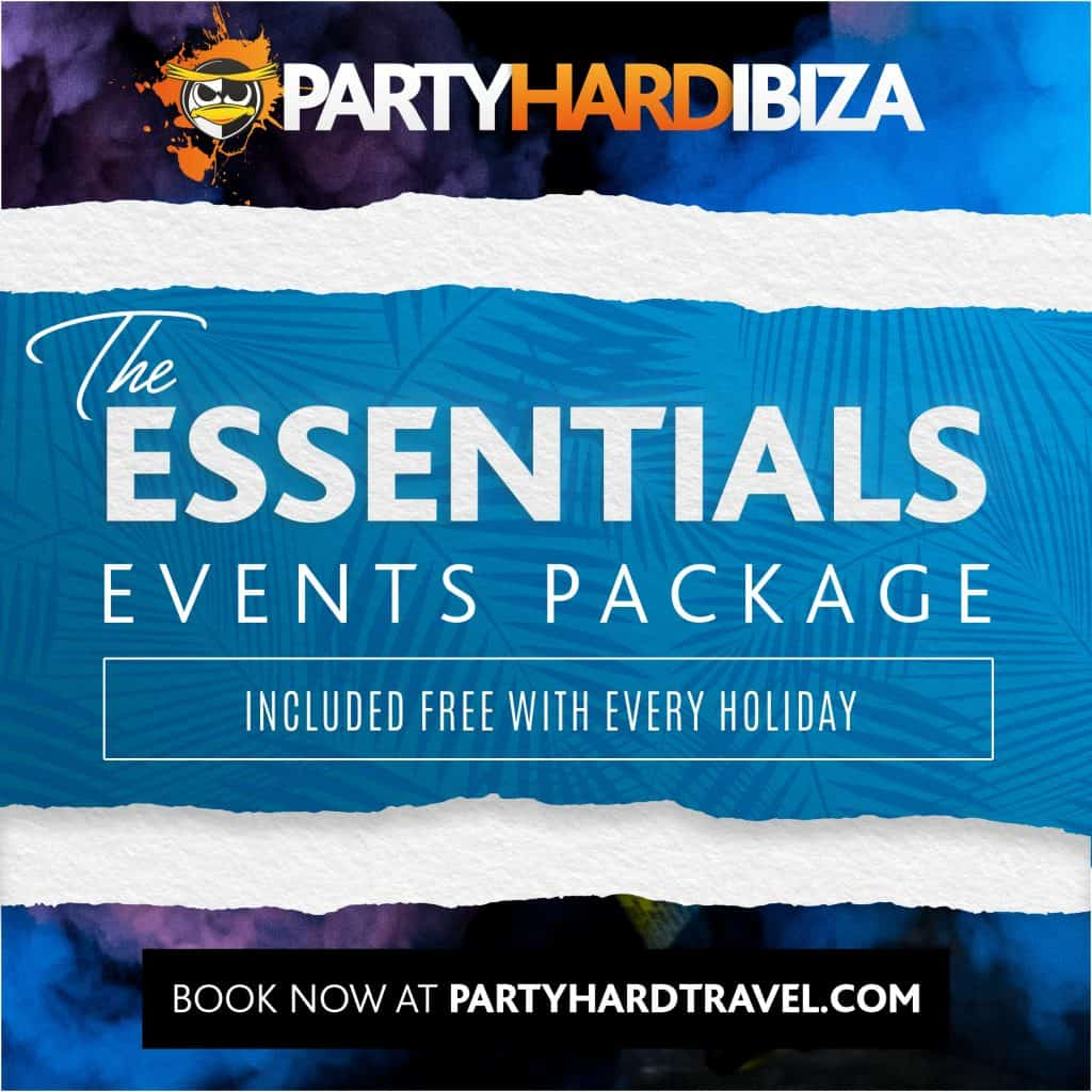 Ibiza Essentials Events Package