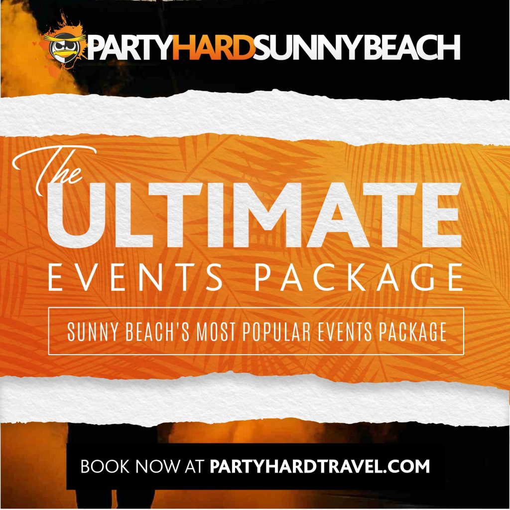 Sunny Beach Ultimate Events Package