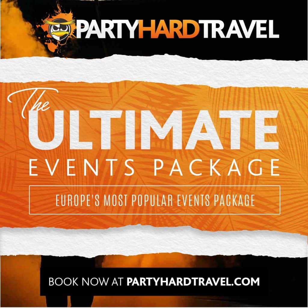 Party Hard Travel Ultimate Events Package