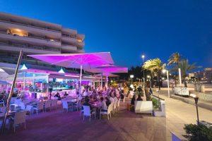 bondi beach restaurant on magaluf beach front